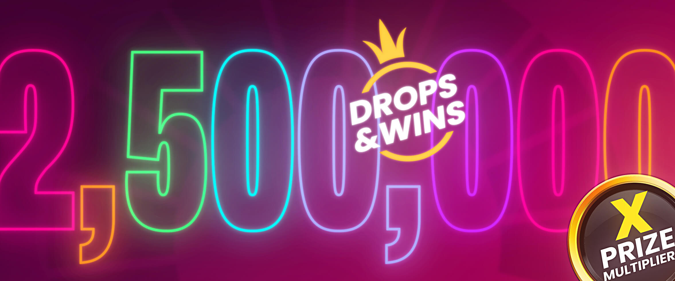 Drops and Wins 2021 - $2,500,000 in Prizes!