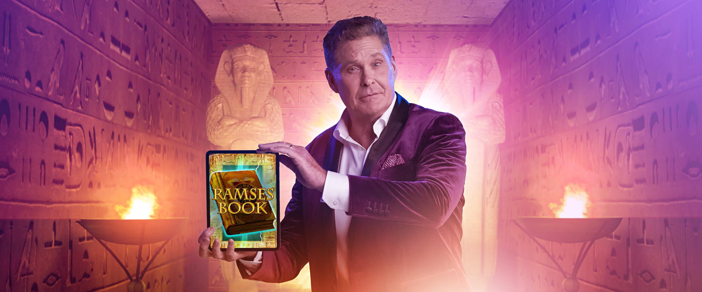 Jouez à Ramses Book pour courir la chance de gagner une part de 10 000 $ en prix